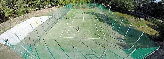 Trawiaste korty tenisowe